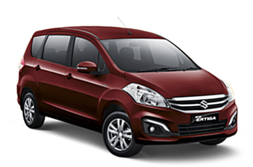 NEW ERTIGA RADIANT RED