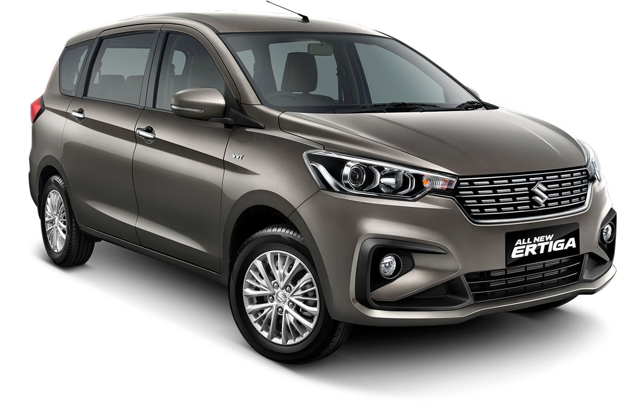 All New Ertiga Magma Grey