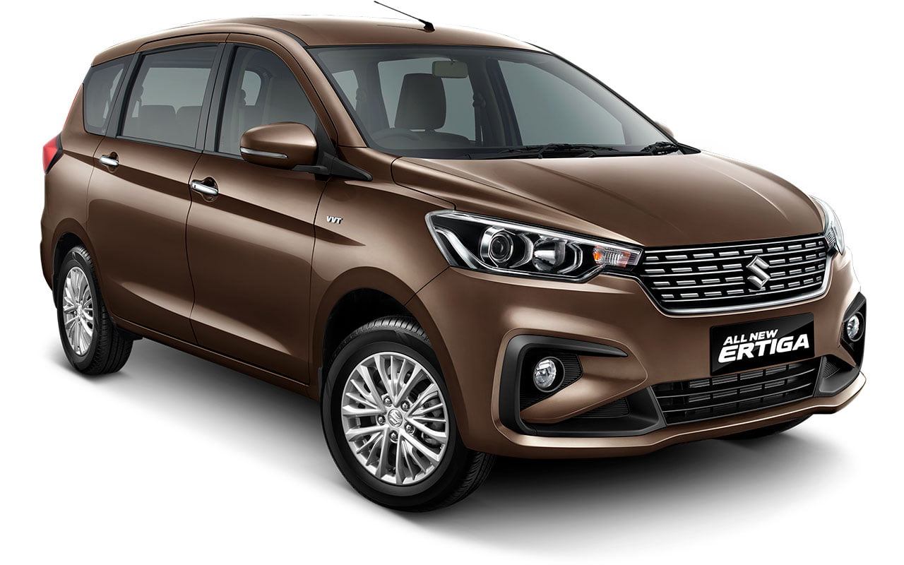 All New Ertiga Pearl Glorius Brown