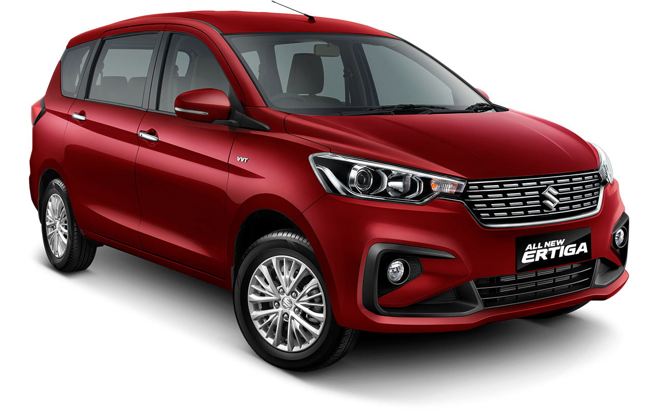 All New Ertiga Radiant Red