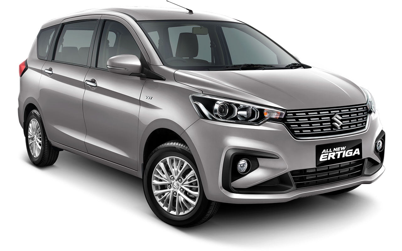 All New Ertiga Silky Silver