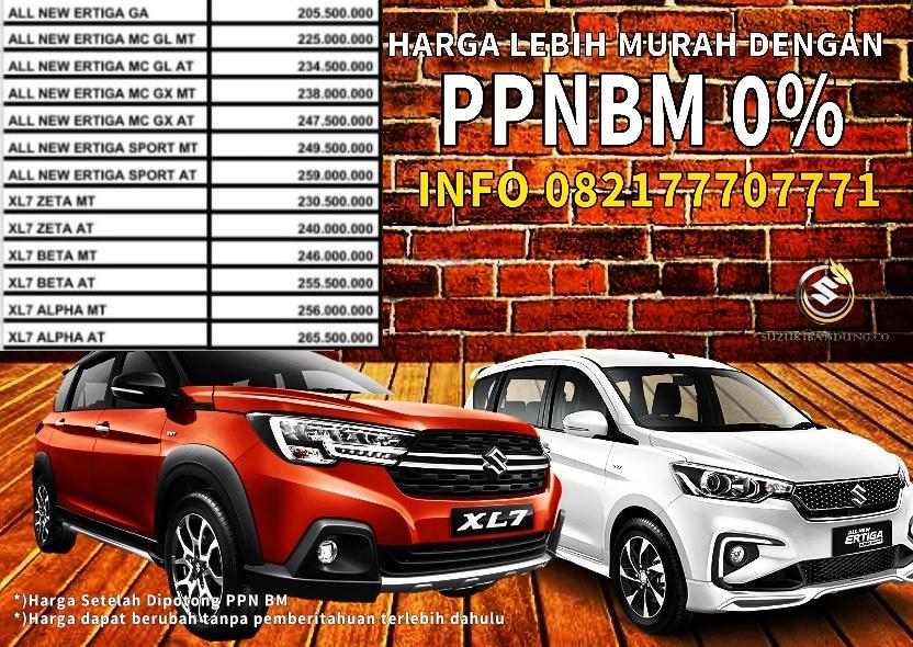 Harga Suzuki Bandung PPN BM